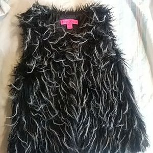 Faux Fur Vest for girls